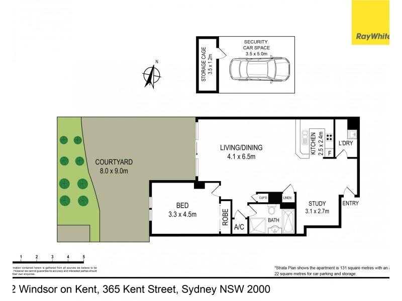 2 / 365 Kent Street, Sydney NSW 2000 Floorplan