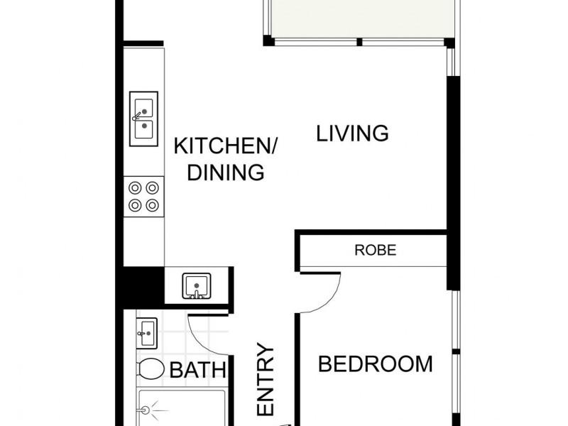 32.05 / 115 Bathurst Street, Sydney NSW 2000 Floorplan
