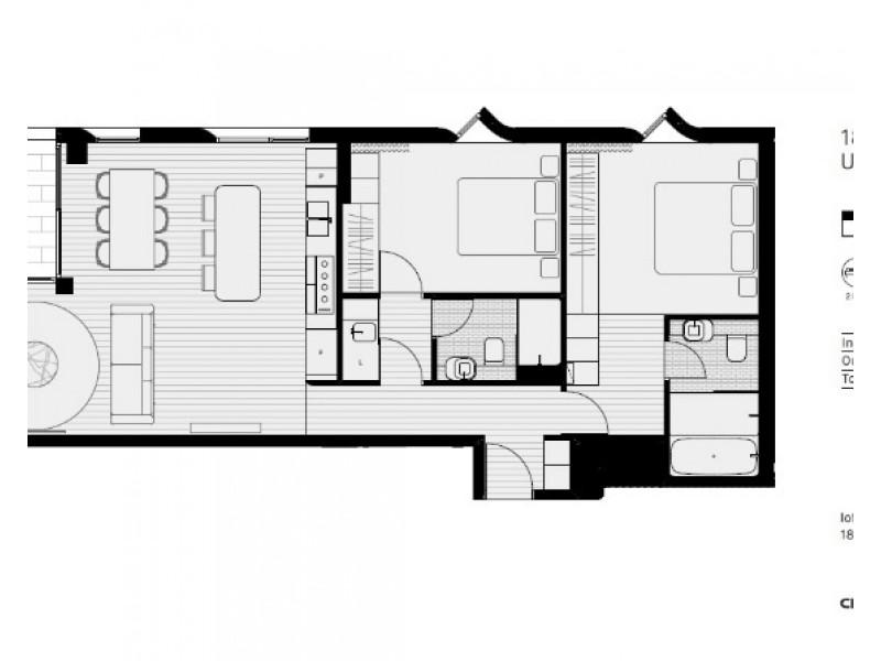 501 / 18 Loftus Street, Sydney NSW 2000 Floorplan