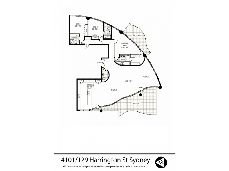 Sydney NSW 2000 Floorplan