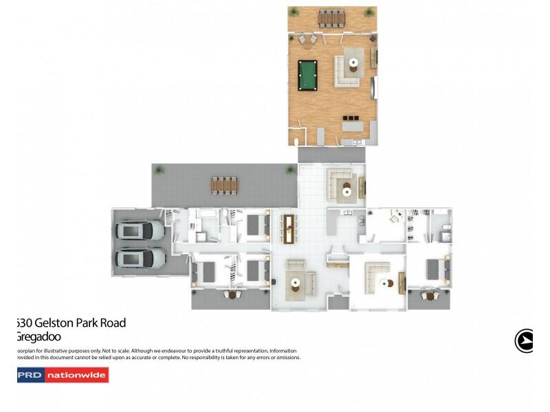 630 Gelston Park Road, Gelston Park NSW 2650 Floorplan