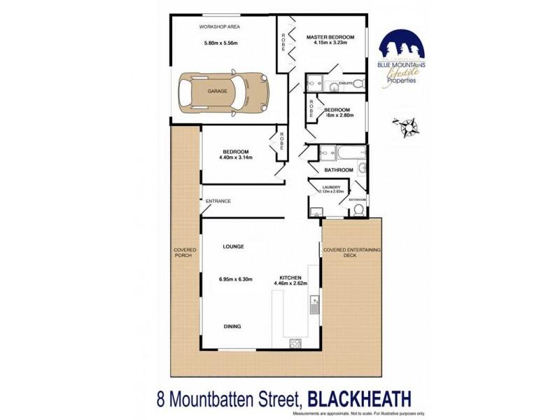 8 Mountbatten St, Blackheath NSW 2785 Floorplan