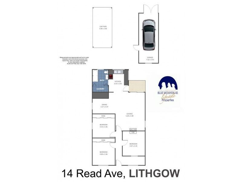 14 Read Avenue, Lithgow NSW 2790 Floorplan