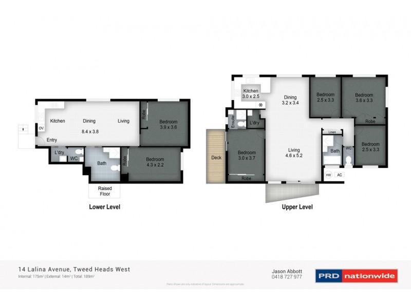 14 Lalina Ave, Tweed Heads West NSW 2485 Floorplan