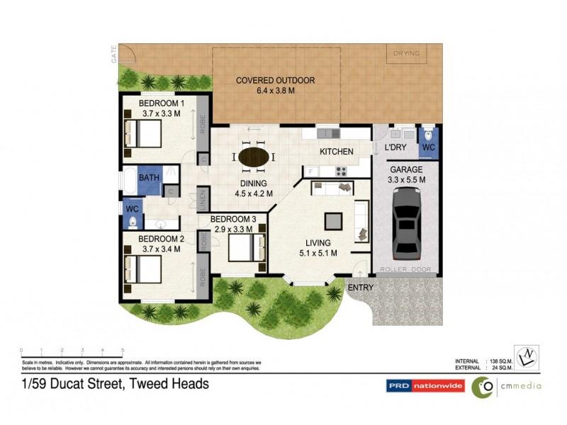 1/59 Ducat Street, Tweed Heads NSW 2485 Floorplan