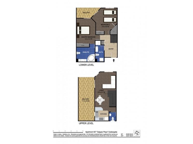 437/99 Griffith Street, Coolangatta QLD 4225 Floorplan