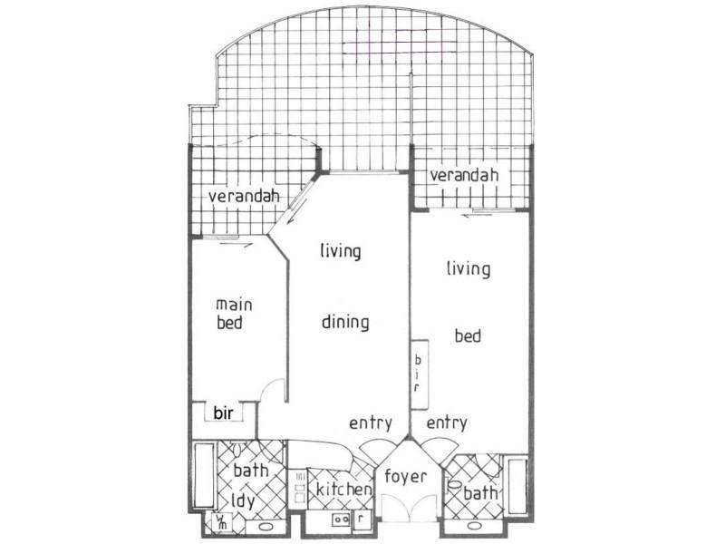 107-109/99 Griffith Street, Coolangatta QLD 4225 Floorplan