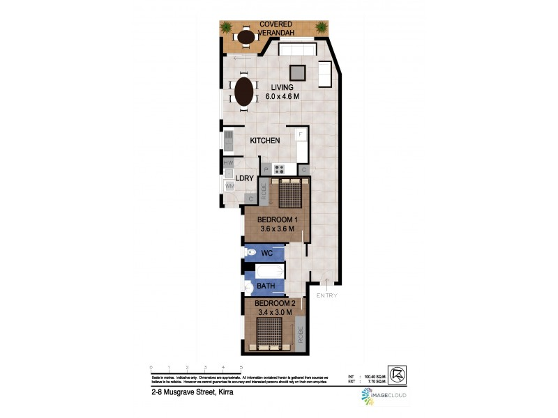 2/8 Musgrave Street, Coolangatta QLD 4225 Floorplan