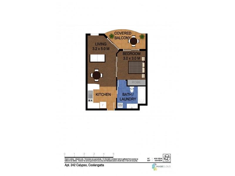 242/99 Griffith Street, Coolangatta QLD 4225 Floorplan
