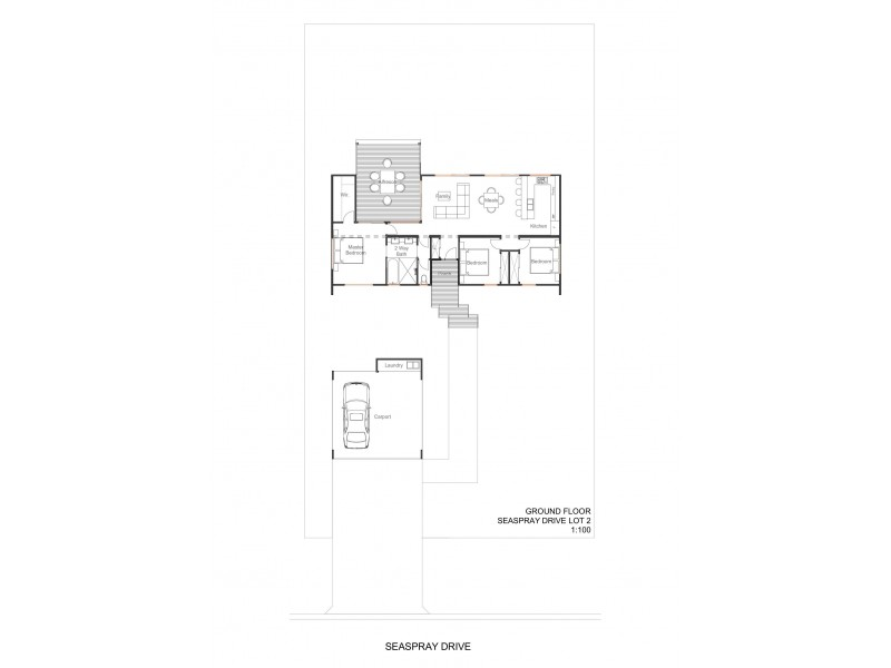 76 Seaspray Drive, Agnes Water QLD 4677 Floorplan