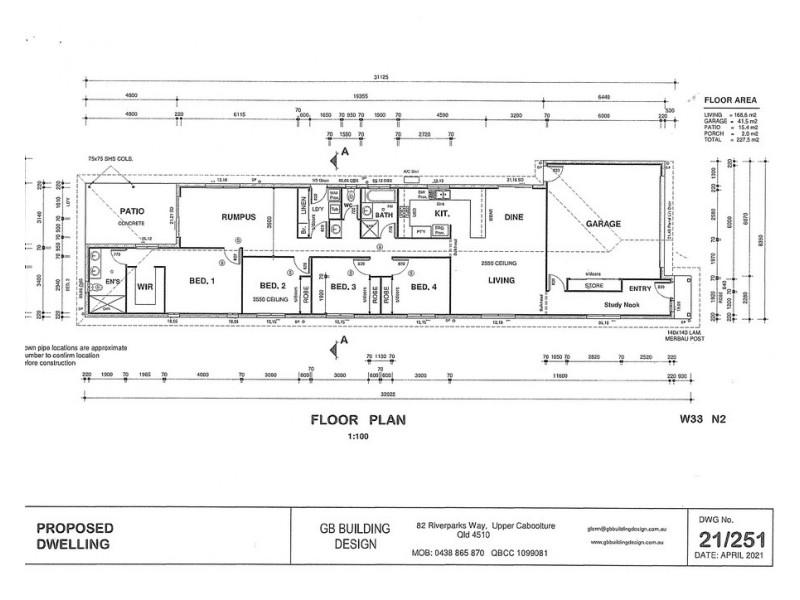 86 Kinsellas Road West, Mango Hill QLD 4509 Floorplan