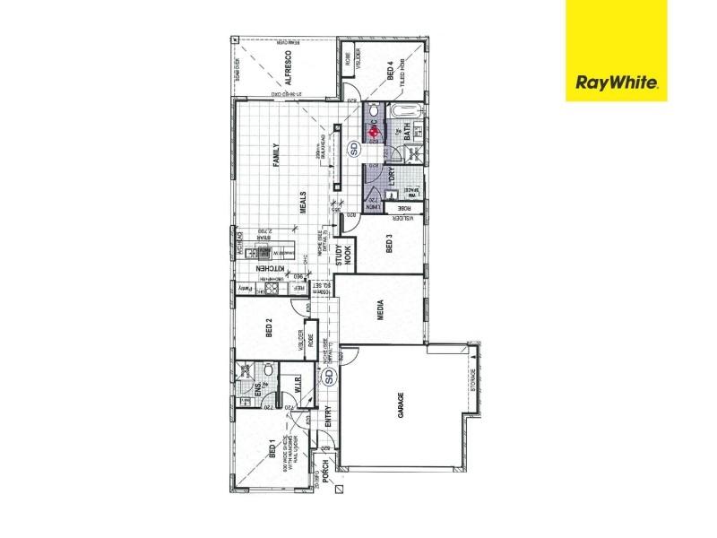 46 Glengrove Circuit, Mango Hill QLD 4509 Floorplan