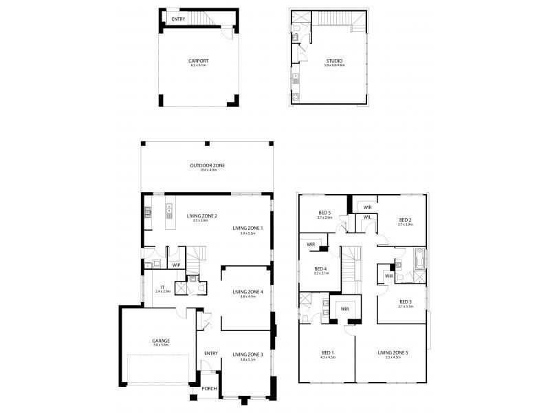 Mango Hill QLD 4509 Floorplan