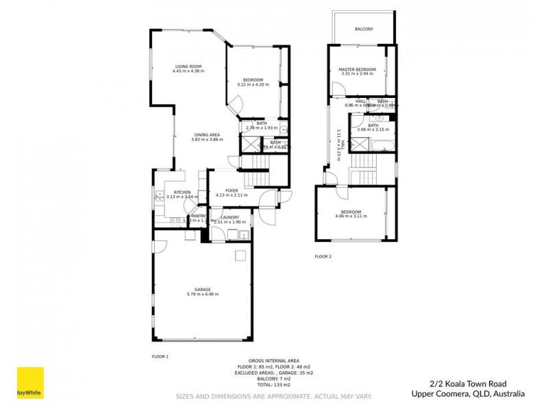 2/2 Koala Town Road, Upper Coomera QLD 4209 Floorplan