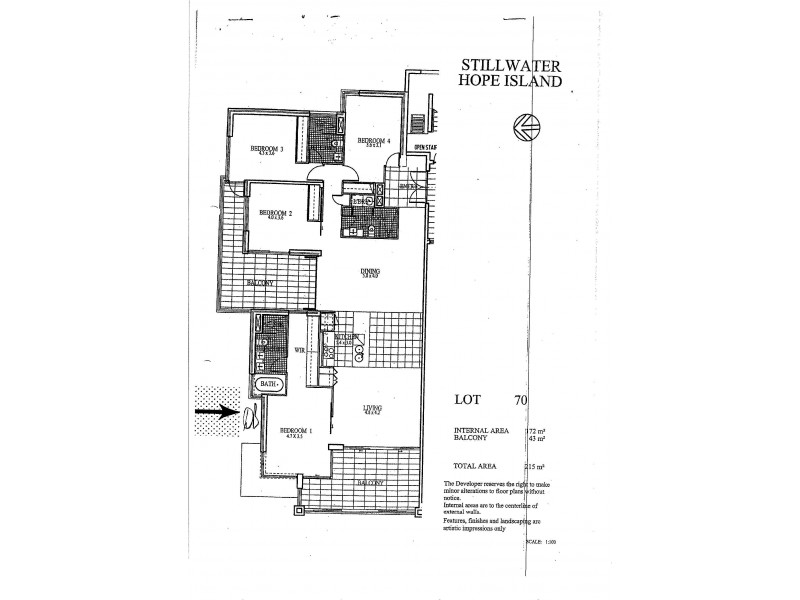 1770 Rialto Quays Drive, Hope Island QLD 4212 Floorplan
