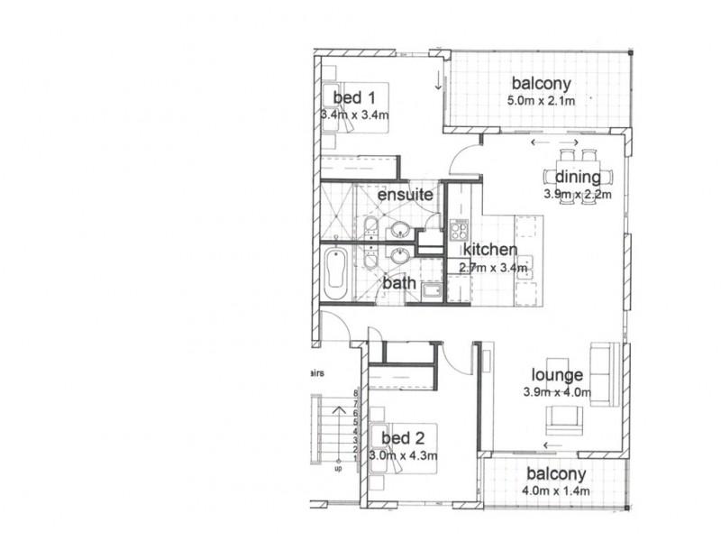 143/1 Linear Drive, Mango Hill QLD 4509 Floorplan
