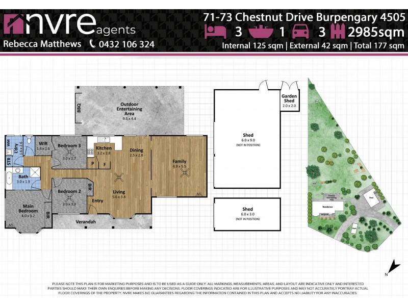 71-73 Chestnut Drive, Burpengary QLD 4505 Floorplan