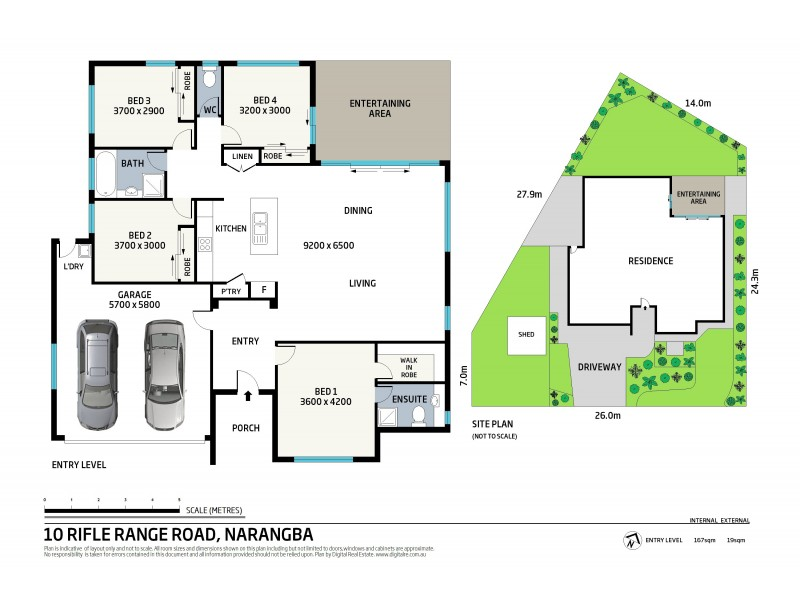 10 Rifle Range Road, Narangba QLD 4504 Floorplan