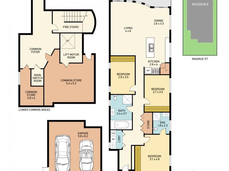 Nelson Bay NSW 2315 Floorplan