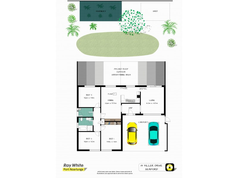 19 Tiller Drive, Seaford SA 5169 Floorplan