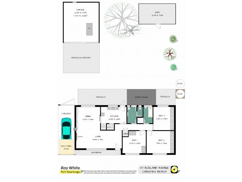 37 Ackland Avenue, Christies Beach SA 5165 Floorplan