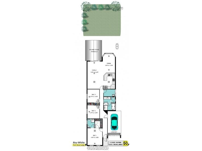 9 Dodd Avenue, Port Noarlunga SA 5167 Floorplan