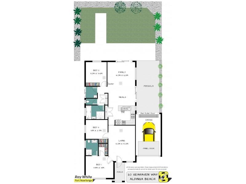 20 Seahaven Way, Aldinga Beach SA 5173 Floorplan
