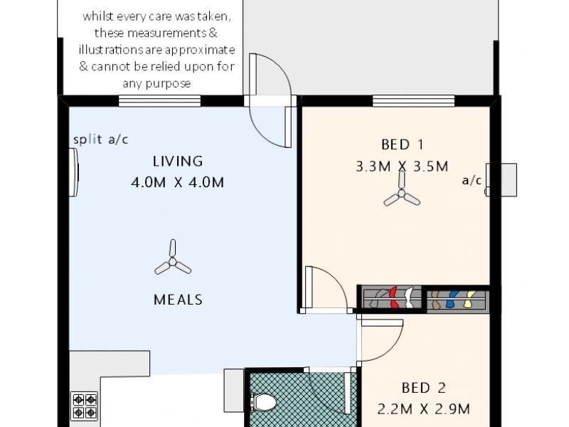 Unit 29, 82-84 River Road, Port Noarlunga SA 5167 Floorplan