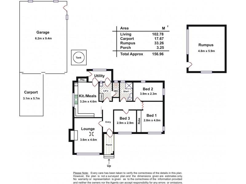 4 Field Street, Mclaren Vale SA 5171 Floorplan