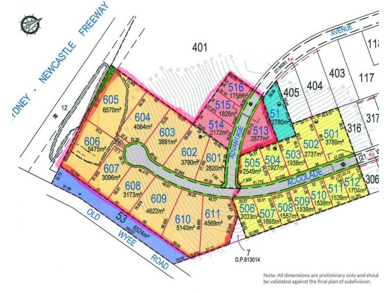 Lot 501 – 611 Accolade Ave, Morisset NSW 2264 Floorplan