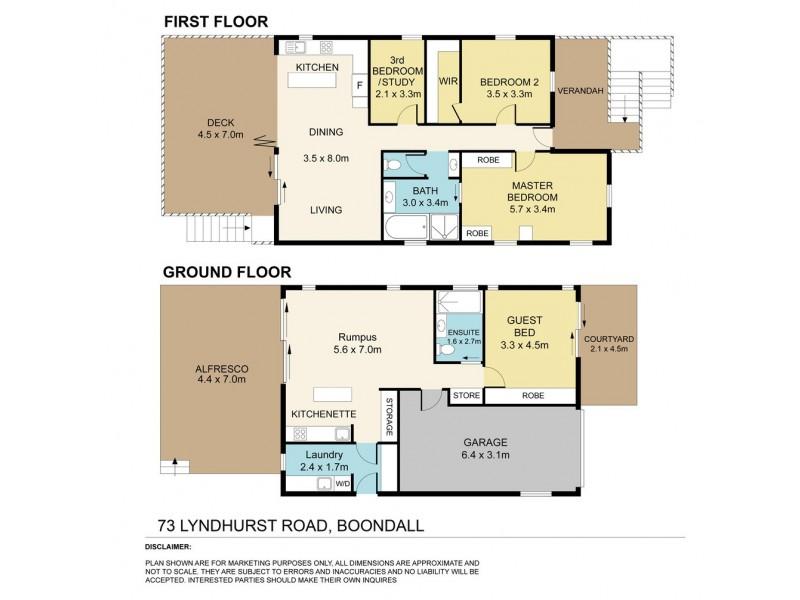 73 Lyndhurst Road, Boondall QLD 4034 Floorplan