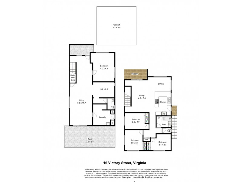 16 Victory Street, Virginia QLD 4014 Floorplan