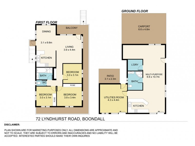 72 Lyndhurst Road, Boondall QLD 4034 Floorplan
