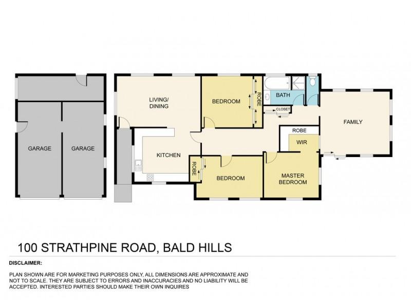 100 Strathpine Road, Bald Hills QLD 4036 Floorplan