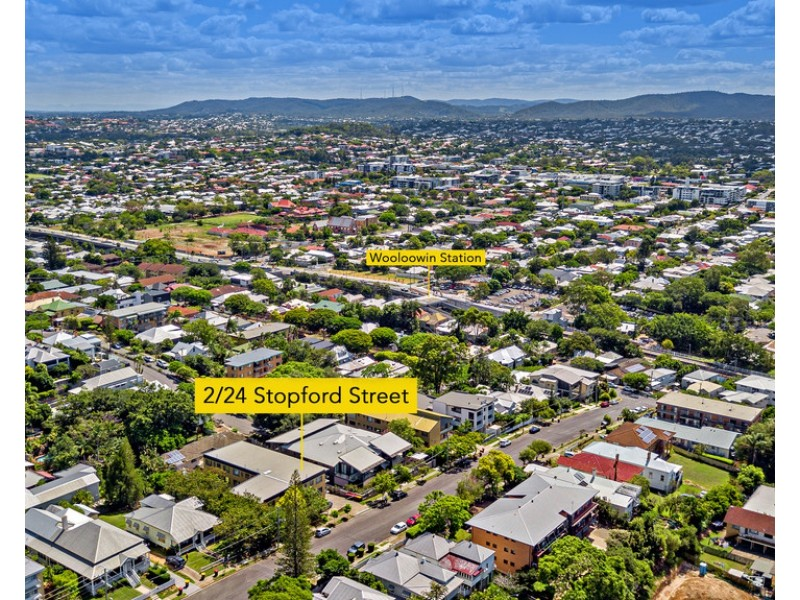 2/24 Stopford Street, Wooloowin QLD 4030