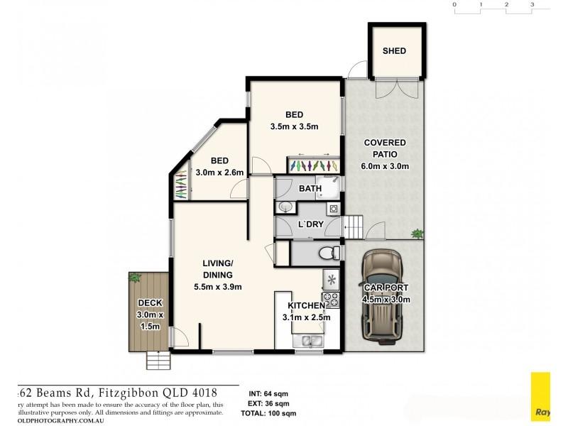 151/462 Beams Road, Fitzgibbon QLD 4018 Floorplan