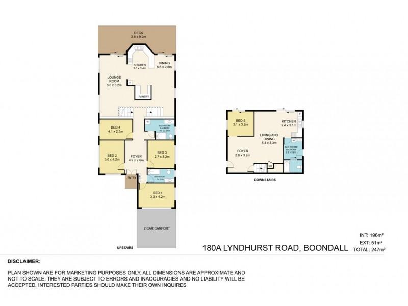 180a Lyndhurst Road, Boondall QLD 4034 Floorplan