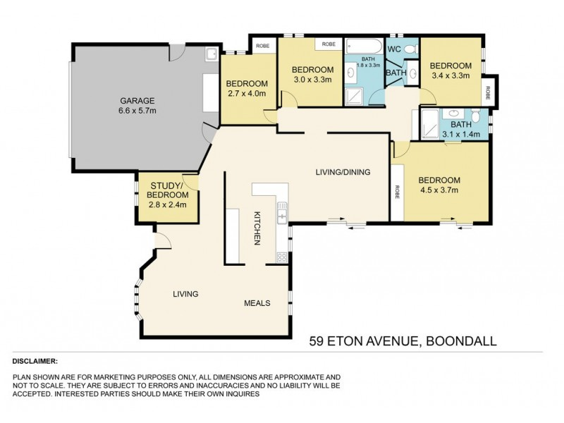 59 Eton Avenue, Boondall QLD 4034 Floorplan