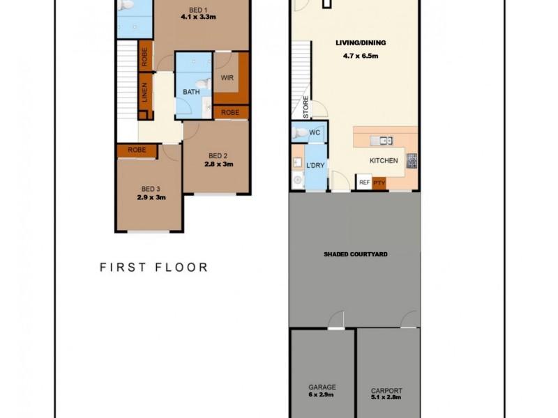 13 Montebello Circle, Kirwan QLD 4817 Floorplan