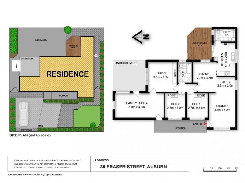30 Fraser Street, Auburn NSW 2144 Floorplan