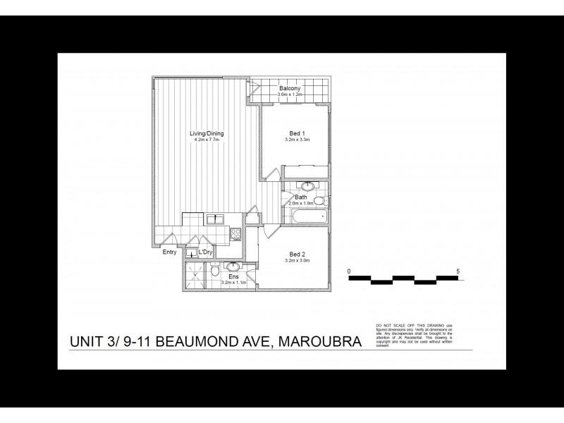 3/9-11 Beaumond Avenue, Maroubra NSW 2035 Floorplan