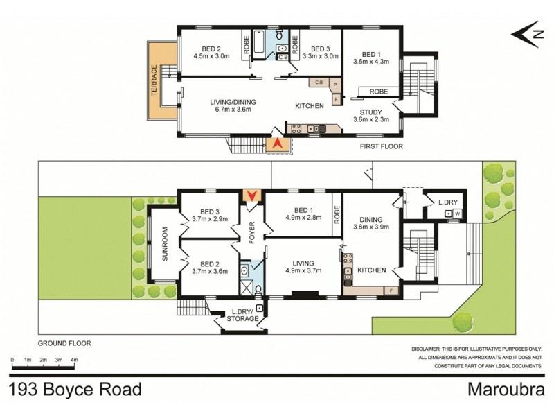 193 Boyce Road, Maroubra NSW 2035 Floorplan