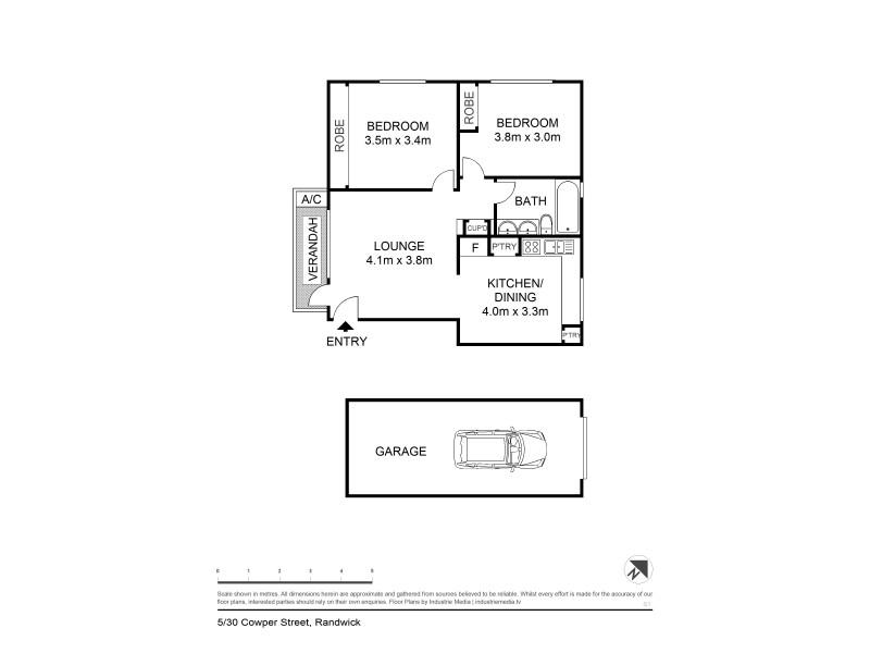 5/30 Cowper Street, Randwick NSW 2031 Floorplan
