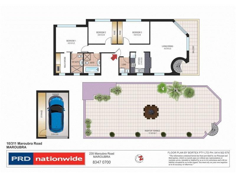 10/311-313 Maroubra Road, Maroubra NSW 2035 Floorplan