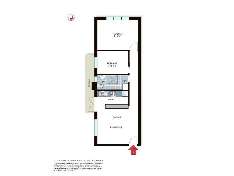 32/5 McKeon Street, Maroubra NSW 2035 Floorplan