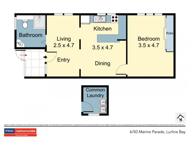 6/50 Marine Parade, Maroubra NSW 2035 Floorplan
