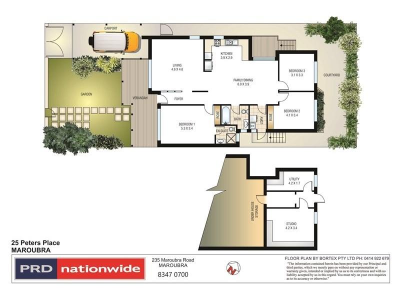 25 Peters Place, Maroubra NSW 2035 Floorplan