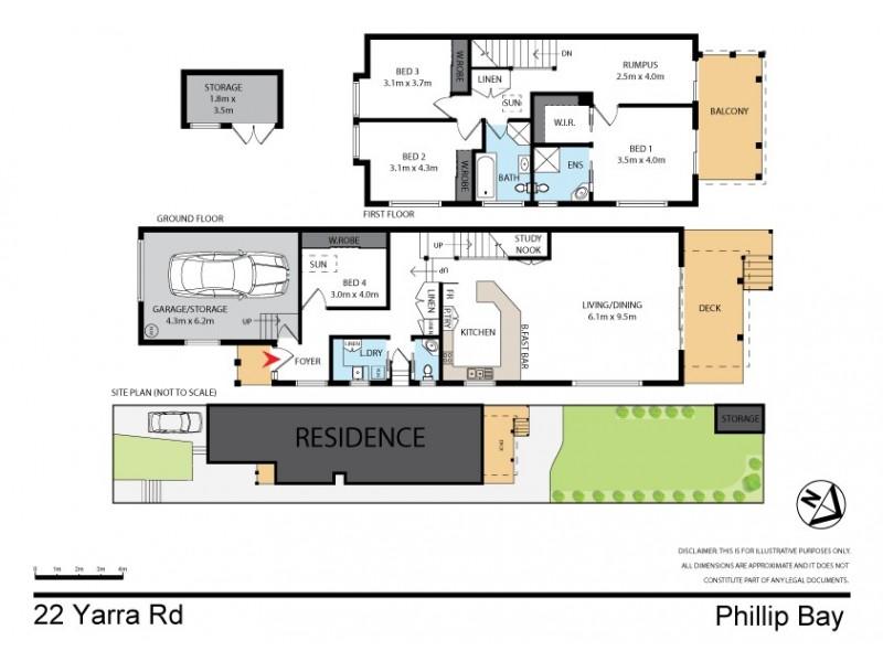22 Yarra Road, Phillip Bay NSW 2036 Floorplan
