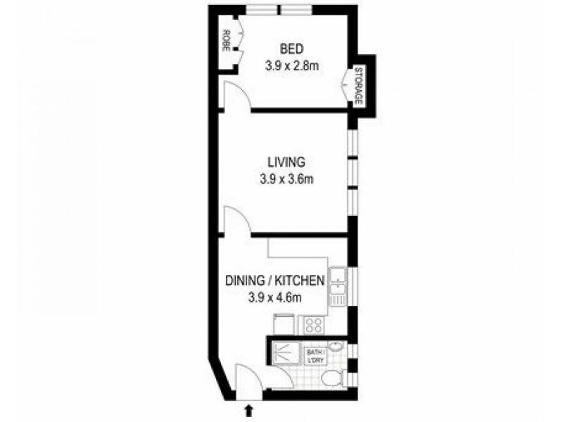11/20 Glebe Street, Randwick NSW 2031 Floorplan