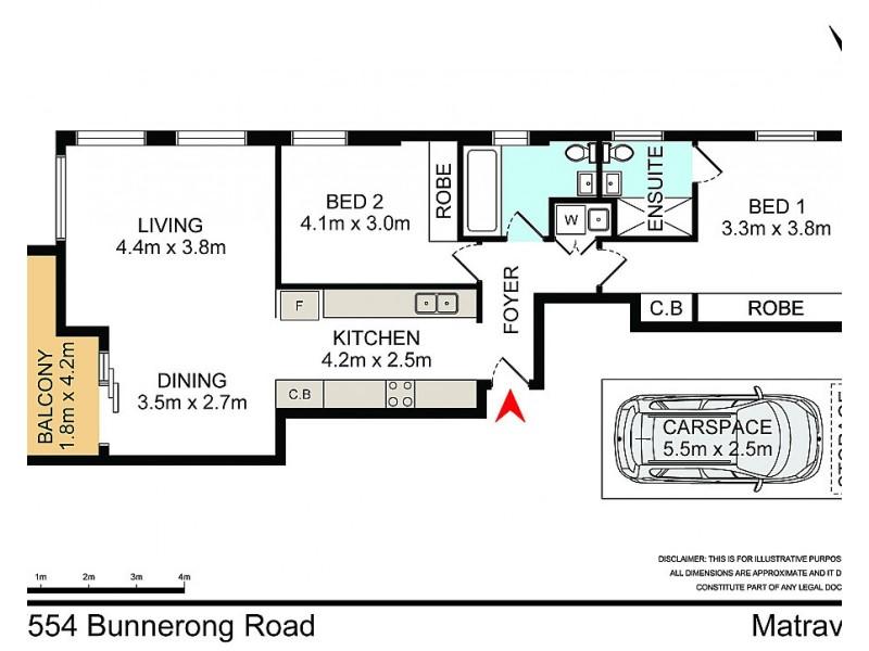 15/554 Bunnerong Road, Matraville NSW 2036 Floorplan